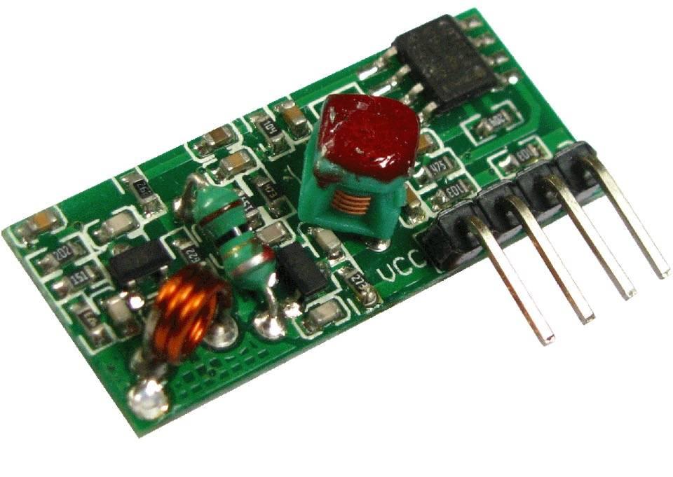 Module récepteur 433 MHz pour Arduino, Raspberry Pi