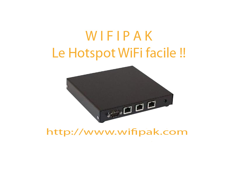 Wifipak Hotspot WiFi